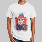T-Shirt, Mad Hatter - Ultra Cotton 100% Cotton T Shirt